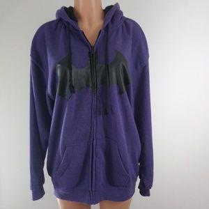 Batman Purple & Black Sweater